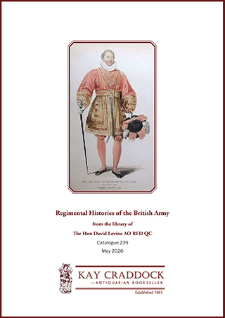 Catalogue 239: Regimental Histories of the British Army