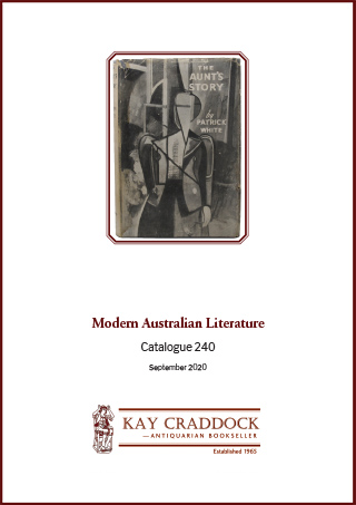Catalogue 240: Modern Australian Literature