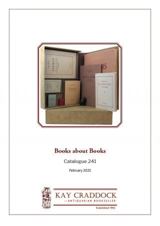 Catalogue 241: Books about Books