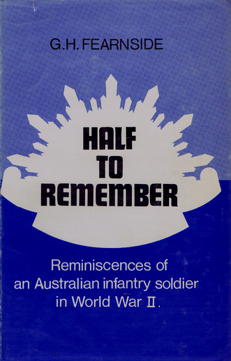 HALF TO REMEMBER. G. H. Fearnside.