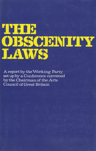 THE OBSCENITY LAWS. Obscenity Laws.