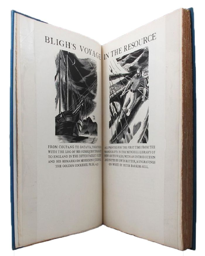 BLIGH'S VOYAGE IN THE RESOURCE, William Bligh.