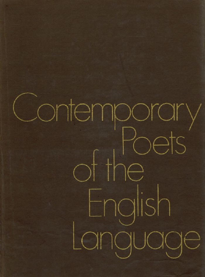 CONTEMPORARY POETS OF THE ENGLISH LANGUAGE. Rosalie Murphy.
