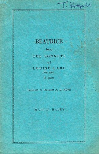 BEATRICE. Louise Labe.