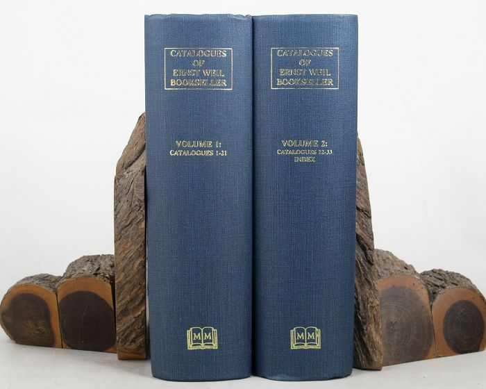 CATALOGUE OF BOOKS, MANUSCRIPTS, PHOTOGRAPHS AND SCIENTIFIC INSTRUMENTS. Ernst Weil.