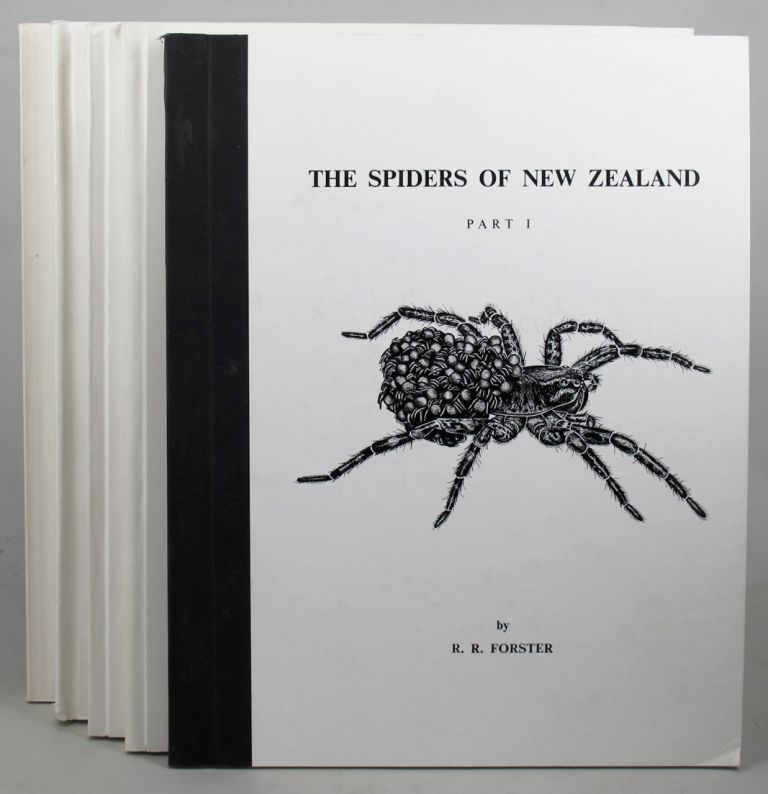THE SPIDERS OF NEW ZEALAND. Parts I-V. R. R. Forster, C. L. Wilton, A. D. Blest.