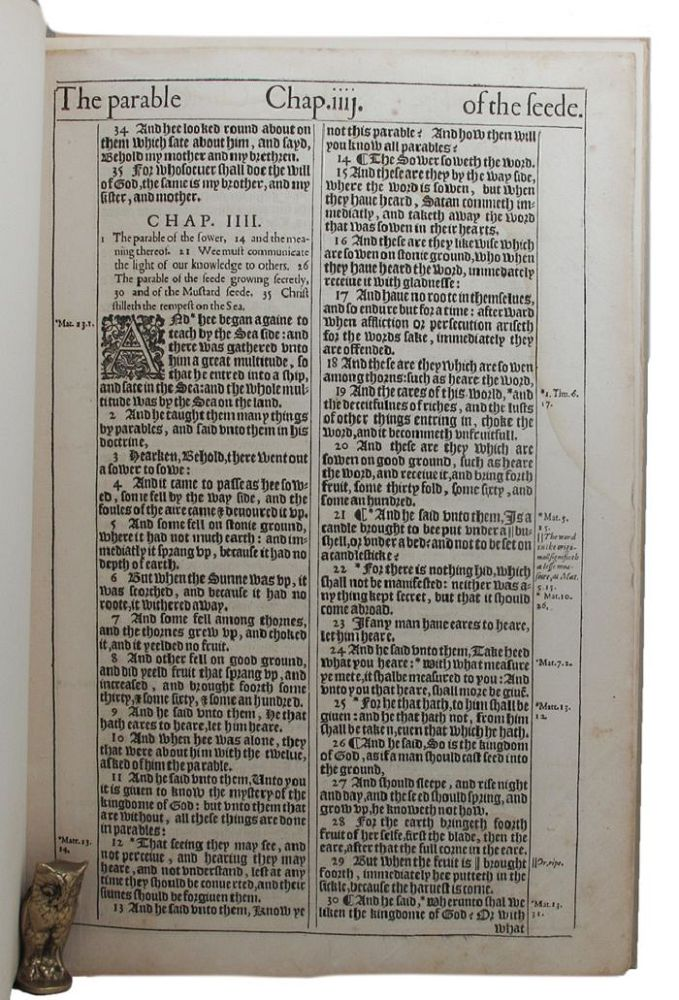 THE MAKING OF THE KING JAMES BIBLE. Edwin Eliott Willoughby.