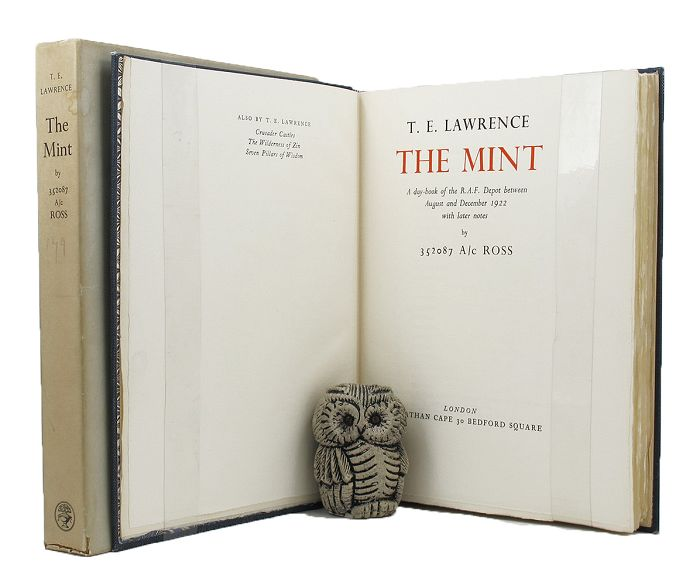 THE MINT. T. E. Lawrence.