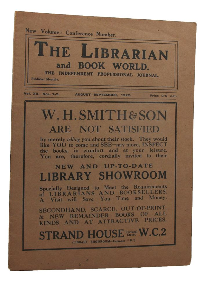 BOOKPLATES:. The Librarian, Book World.