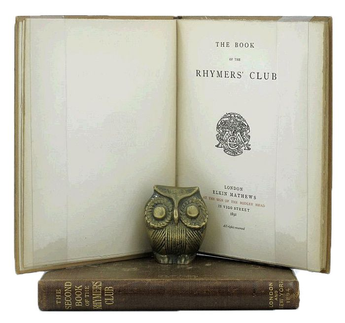THE BOOK OF THE RHYMERS' CLUB. W. B. Yeats, others.