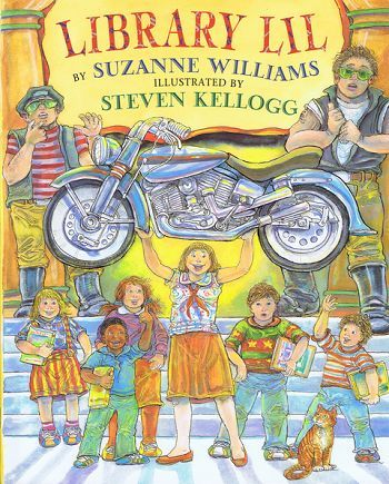 LIBRARY LIL. Suzanne Williams.