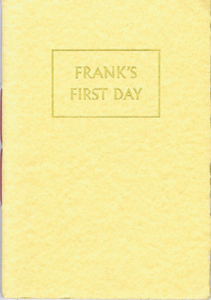 FRANK'S FIRST DAY. Paul Brennan.
