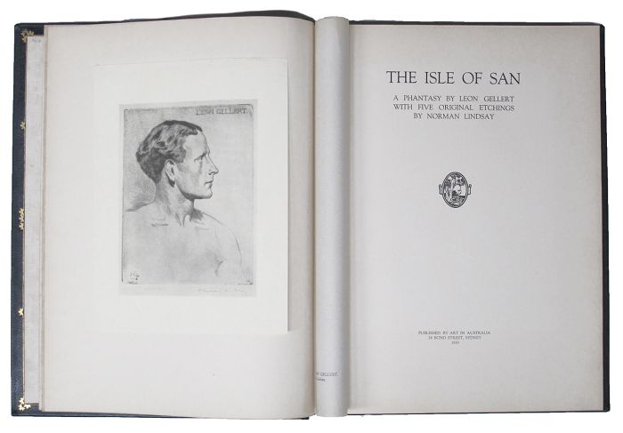 THE ISLE OF SAN. Norman Lindsay, Leon Gellert.