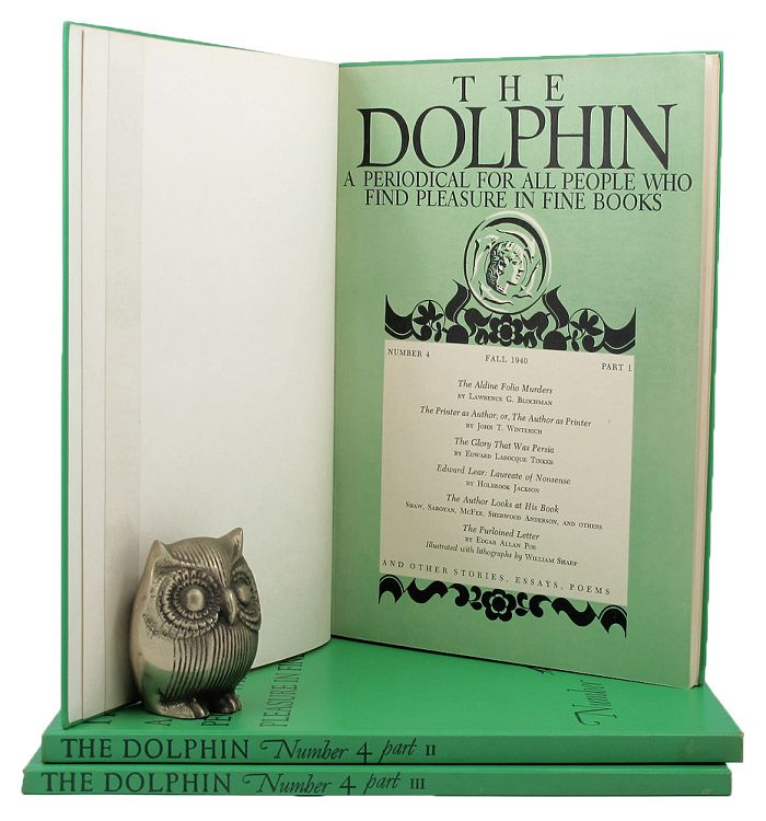 THE DOLPHIN. The Dolphin, John T. Winterich, others.