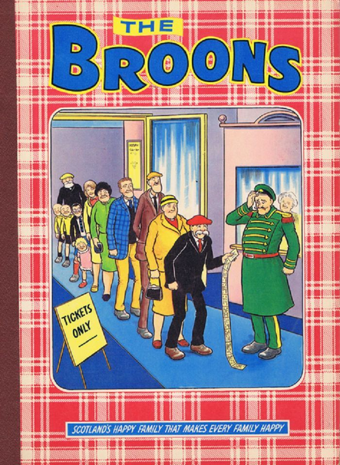 THE BROONS. [1982 Annual]. Peter Davidson.