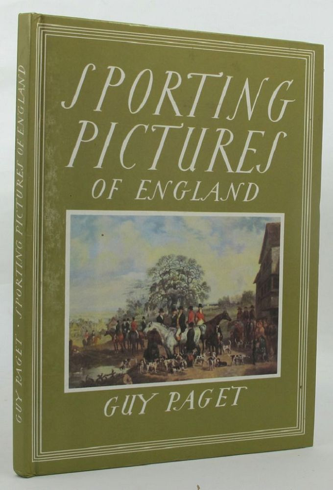 SPORTING PICTURES OF ENGLAND. Guy Paget.