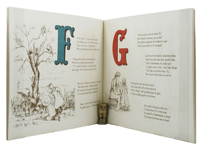 SUSIE'S AND LITTLE HUGH'S ALPHABET. Helen Abercromby.
