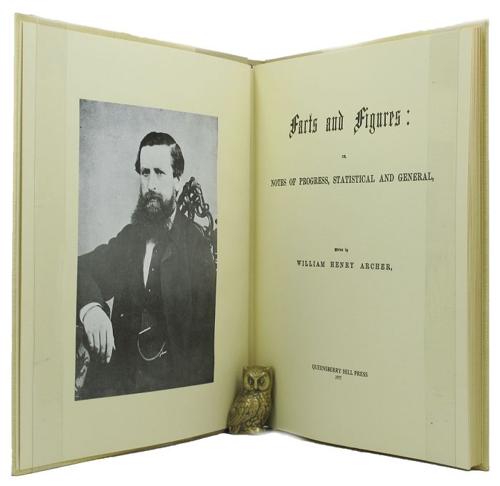 FACTS AND FIGURES:. William Henry Archer.