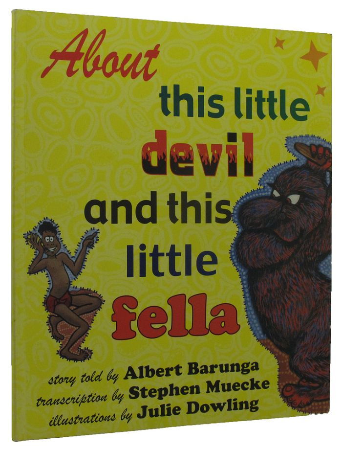 ABOUT THIS LITTLE DEVIL AND THIS LITTLE FELLA. Albert Barunga.
