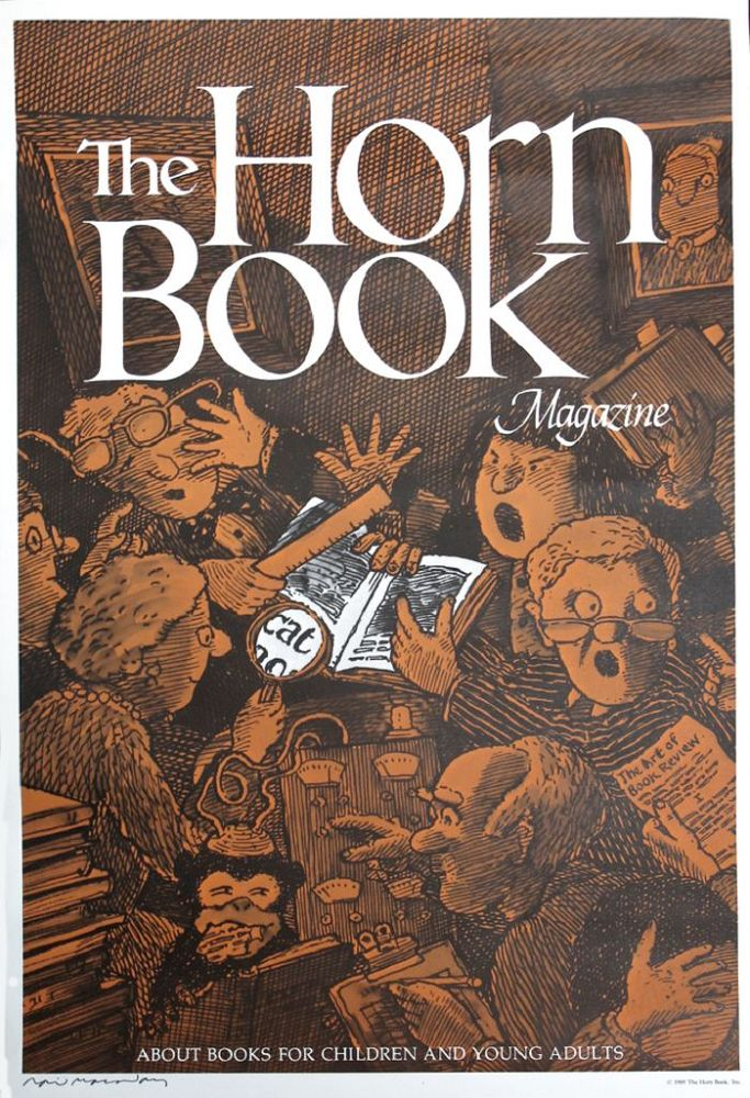 POSTER FOR THE HORN BOOK MAGAZINE. David Macaulay.