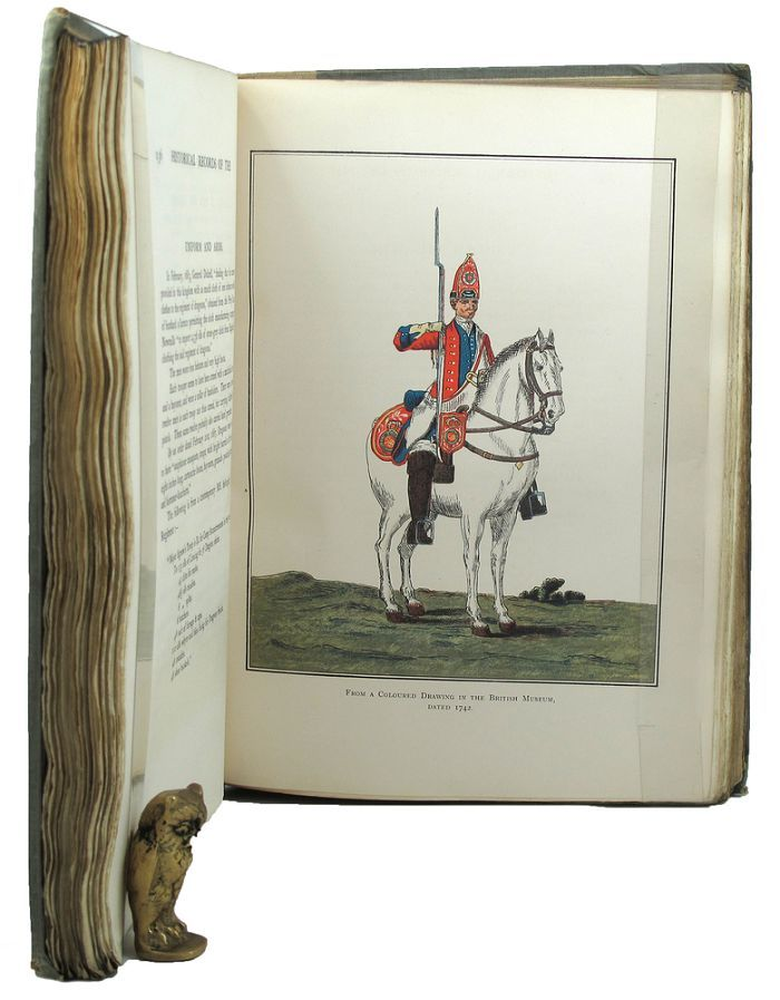 THE HISTORY OF THE SECOND DRAGOONS 'ROYAL SCOTS GREYS'. Royal Scots Greys 02nd Dragoons, Edward Almack.