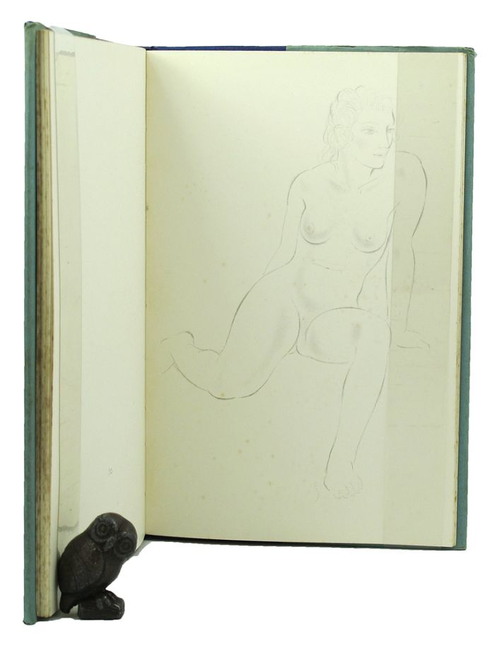 DRAWINGS FROM LIFE. Eric Gill.