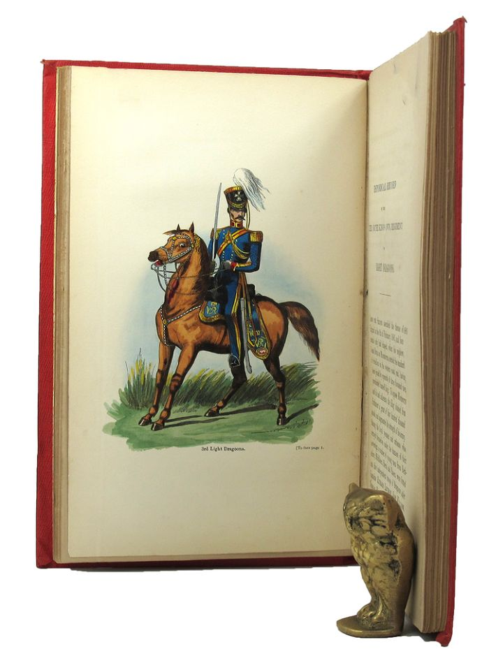 HISTORICAL RECORD OF THE THIRD, OR THE KING'S OWN REGIMENT OF LIGHT DRAGOONS. King's Own Hussars 03rd, Richard Cannon, Compiler.