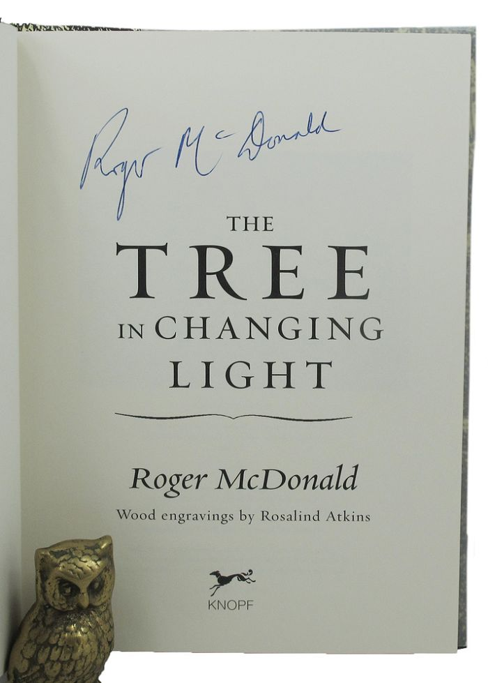THE TREE IN CHANGING LIGHT. Roger McDonald.