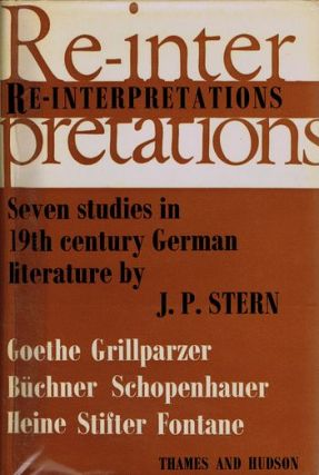 RE-INTERPRETATIONS. J. P. Stern