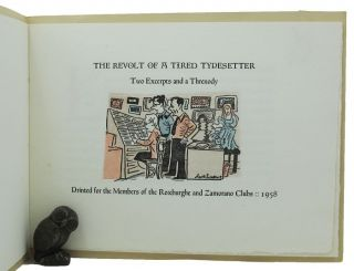 THE REVOLT OF A TIRED TYPESETTER. David Magee.