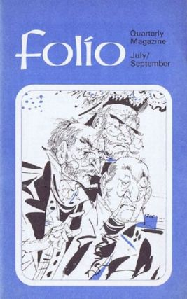 FOLIO, JULY-SEPTEMBER 1969. Folio Society