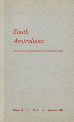 SOUTH AUSTRALIANA. Libraries Board of South Australia