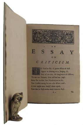 AN ESSAY ON CRITICISM. Alexander Pope