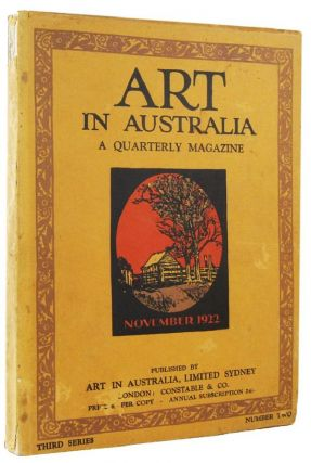 ART IN AUSTRALIA: THIRD SERIES, NUMBER TWO. Art in Australia 03/02