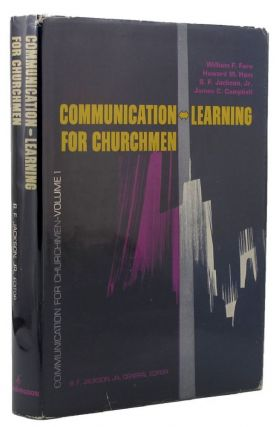 COMMUNICATION FOR CHURCHMEN. B. F. jr Jackson.
