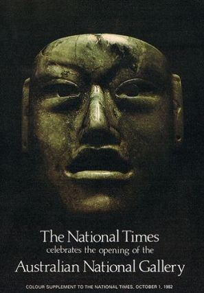 The National Times celebrates the opening of the AUSTRALIAN NATIONAL GALLERY. [cover title]....