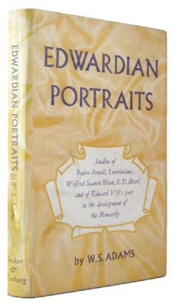 EDWARDIAN PORTRAITS. W. S. Adams.