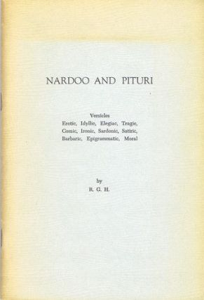 NARDOO AND PITURI. R. G. Howarth