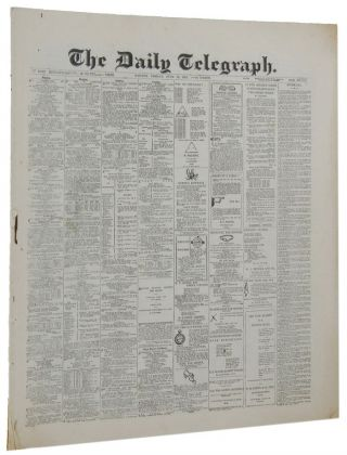 THE DAILY TELEGRAPH. reduced format Newspaper