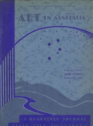 ART IN AUSTRALIA: THIRD SERIES, NUMBER FIFTY-EIGHT. Art in Australia 03/58