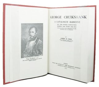 GEORGE CRUIKSHANK. George Cruikshank, Albert M. Cohn