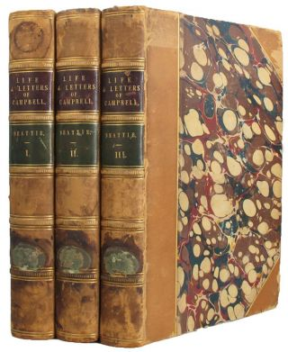 LIFE AND LETTERS OF THOMAS CAMPBELL. Thomas Campbell, William Beattie