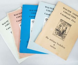 WALTER STONE COLLECTION. Peter Tinslay, Walter W. Stone, Compiler