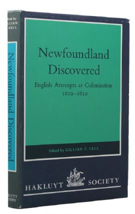 NEWFOUNDLAND DISCOVERED. Gilliam T. Cell.