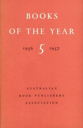 BOOKS OF THE YEAR. Australian Book Publishers Association