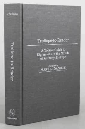 TROLLOPE-TO-READER. Anthony Trollope