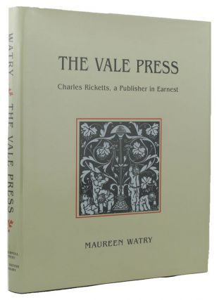 THE VALE PRESS. Vale Press, Maureen Watry.