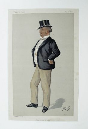 THE LORD HARRY. The Hon. Henry Lorton Bourke, J. P., D. L., Vanity Fair caricature