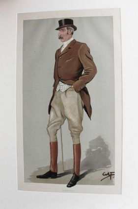 A HARD RIDER. Captain David Longfield Beatty, Vanity Fair caricature