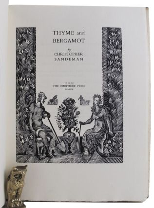 THYME AND BERGAMOT. Christopher Sandeman